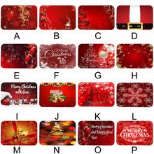 Święty mikołaj flanelowe na święta bożego narodzenia dywan dekoracje na święta bożego narodzenia na boże narodzenie w domu 2020 prezent wystrój bożonarodzeniowy Kerst nowy rok 2021 tanie tanio Ouneed CN (pochodzenie) Nowoczesne Maszyna wykonana Rectangle Hotel Bedroom OUTDOOR Dekoracyjne Łazienka Handlowych Pranie ręczne