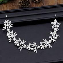 Crown Headpiece Jewelry Hairbands Hair-Accessories Bride Tiara Wedding Baroque-Bridal