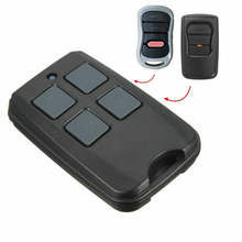 4 Button Wireless RF Remote Control 315 MHz Electric Gate Garage Door Remote Control Key Fob Controller electric control lock remote control system press on release off time delay 3 12s garage entrance door remote controller 315 433