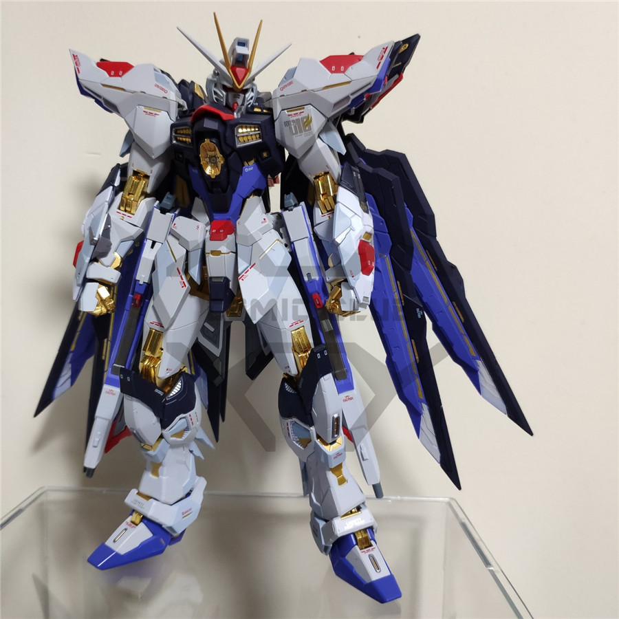 Image 3 - COMIC CLUB IN STOCK Metalgearmodels metal build MB Gundam strike freedom soul bule ver high quality  action figure robot toyAction & Toy Figures   -