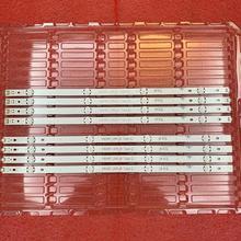 8 sztuk zestaw listwa oświetleniowa LED dla LG innotek 15 5Y 49 cal 49UH61_UHD_A B 49UH603V 49UH601V 49UH620V HC490DGN-SLNX5-514X tanie tanio beented CN (pochodzenie) Sony playstation3 EAY63192605