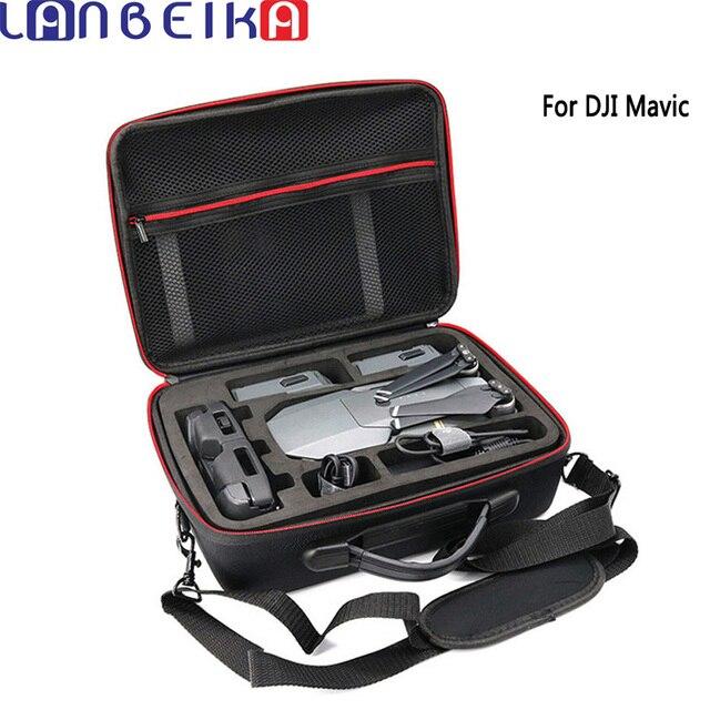 LANBEIKA Professional Hardshell Shoulder Waterproof Drone Bag Handbag EVA Nylon Portable Case Box For DJI Mavic pro Platinum