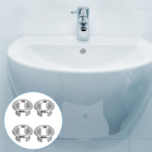 20pcs Wash Basin Overflow Ring Accessories Reliable Bath Sink Overflow Covers