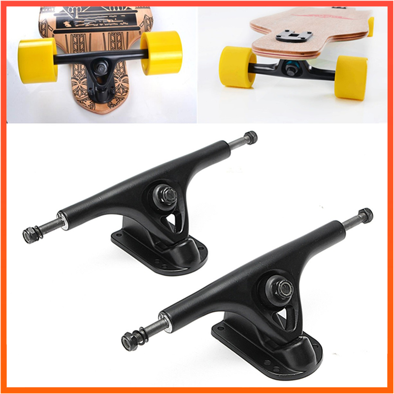 Long Board Trucks P Bridge 2pcs 8inch Paris Skateboard Trucks Electric Skateboard Truck 8inch Dancing Board Longboard Bridges