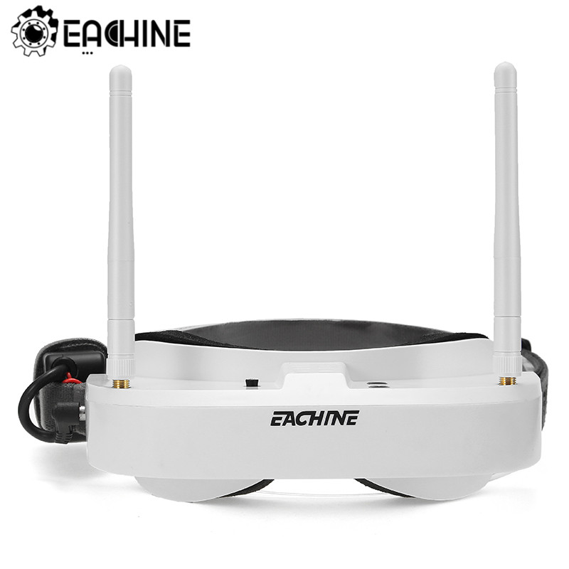Eachine EV100 720*540 5.8G 72CH FPV Goggles With Dual Antennas Fan 7.4V 1000mAh Battery RC Drone Spare Part