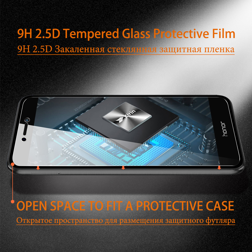 ZLNHIV protective glass for huawei honor 7 7x 7s 7c 7a phone screen protector for honor7 7a pro tempered glass film smartphone