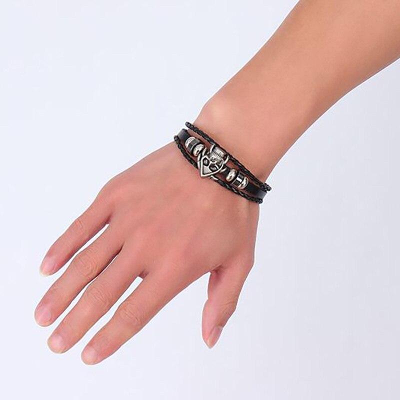Bracelet crâne viking 5