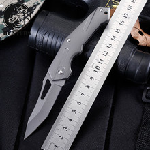 Aviation aluminum handle folding knife tactical outdoor camping hunting survival knife high hardness 5Cr13 blade 2017 new small fixed blade knife tactical hunting knife survival knife high hardness 9cr18mov steel copper handle