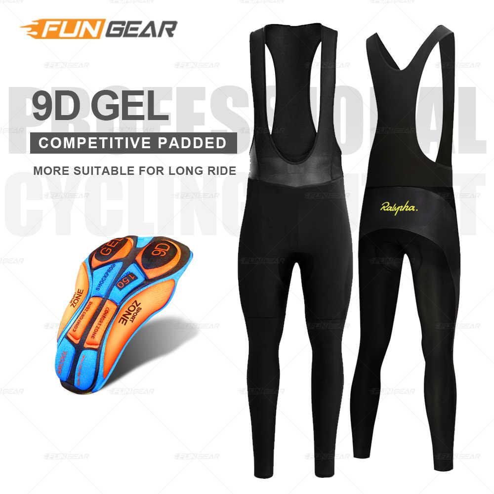 Велосипедные штаны Bib длинные колготки мужские велосипед MTB брюки Зимние флисовые теплые ветрозащитные для велосипедного спорта спортивные анти-пот 9D гелевые черные