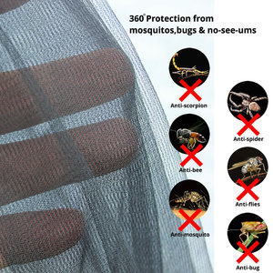 Image 5 - Lightweight Hammock Bug Mosquito Net Fits All Hammocks Outdoor Double Single Hammocks Outfitters Compact Mesh Insect Easy Setup
