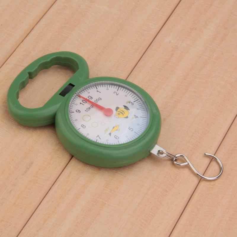 10 كجم المحمولة البسيطة المطبخ مقياس جيب شنقا موازين الصيد هوك موازين الأرقام مؤشر قياس أدوات