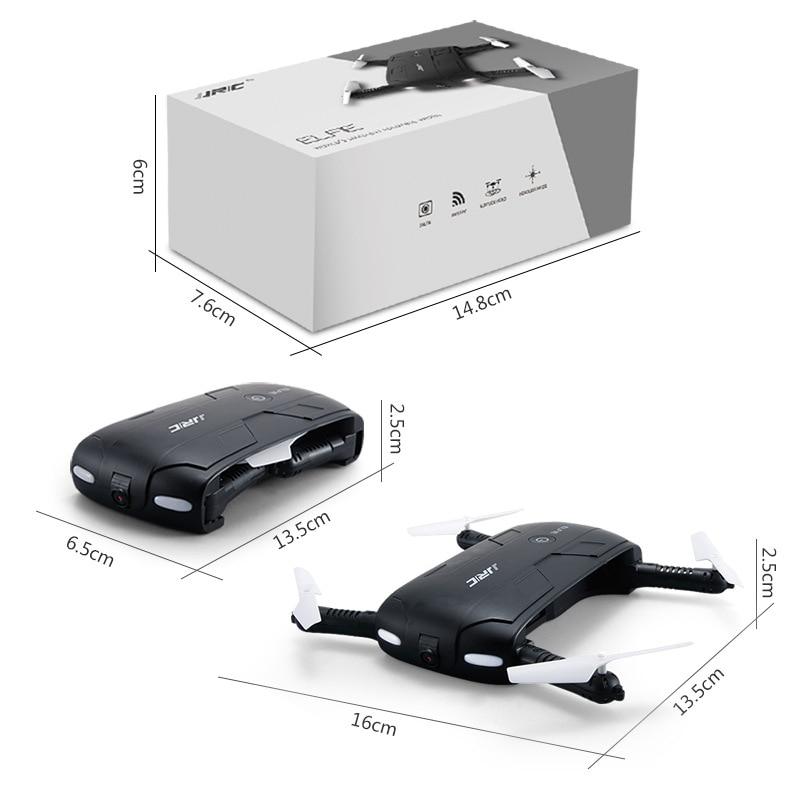 Jjrc H37 200W Pixel High-definition Folding WiFi Set High Small Folding Pocket Selfie Unmanned Aerial Vehicle Flight