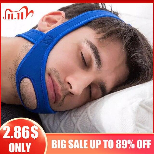 Новый Неопреновый ремень с защитой от храпа и храпа для подбородка, пояс с защитой от апноэ, поддержка сна, пояс для апноэ, инструменты для ухода за сном