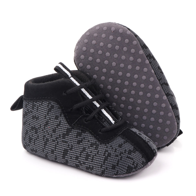 Cotton Warm Girls Boots Non-slip Shinning Baby Shoes 2019 Winter Sport Baby Shoes Soft Sole For 0-18M