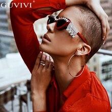 Diamond Cat Eye Sunglasses Women 2019 Men Rhinestone Vintage Luxury Retro Sun Glasses Brand Designer Crystal