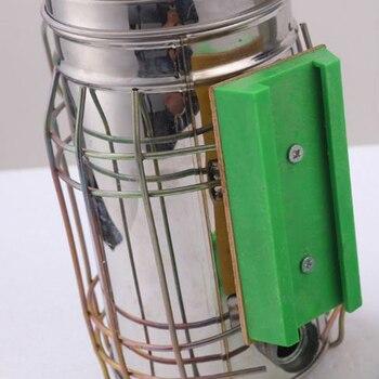 1 Pièces Kit De Transmetteur De Fumée D'abeille électrique Outil D'apiculture électrique D'acier Inoxydable Pour L'apiculture De Récipient D'apiculture De Fumeur D'abeille