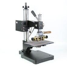 Máquina de estampación TF1135 rcidas, color bronce/Máquina de plegado de cuero, máquina de estampación en caliente, relieve de cuero 220V pedido mínimo 5set