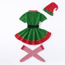 Family Matching Ching Green Elf Costume