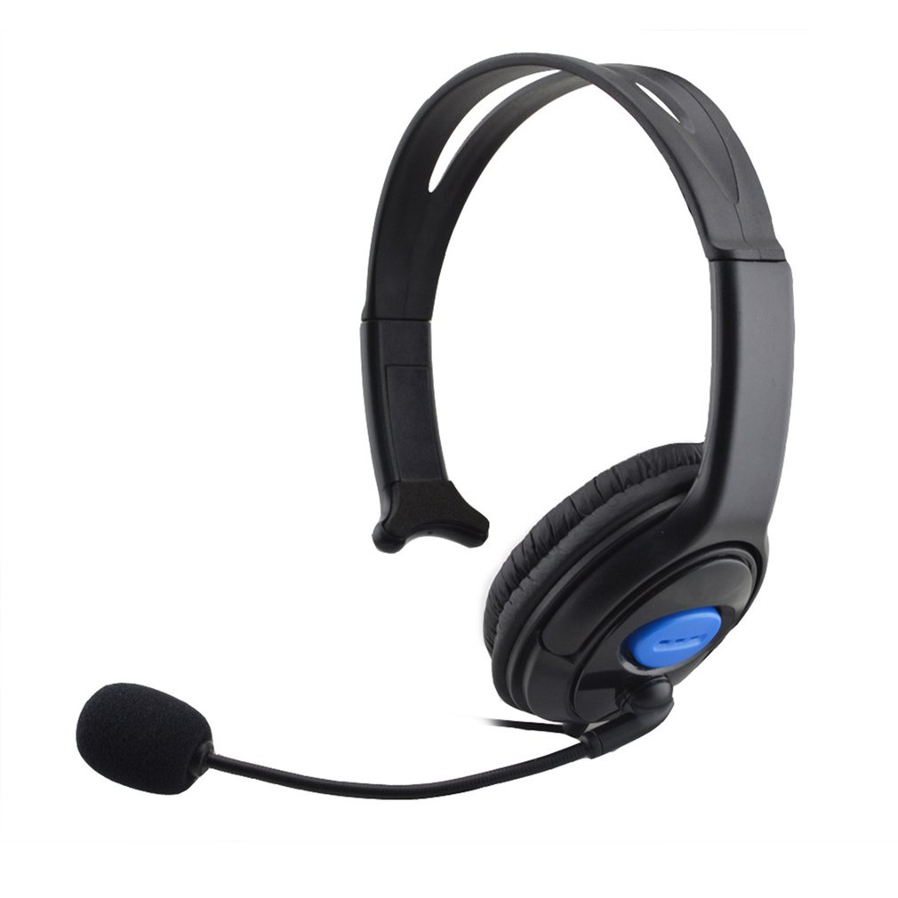 Headset with Microphone Noise Canceling Wired Game Console Headset Ergonomic Designed with Soft Earmuffs