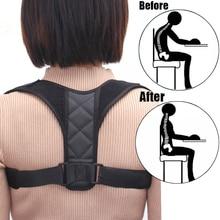 Adjustable Back Shoulder Correction Breathable Belt Posture Corrector Clavicle Spine Arm Lumbar Brace Support