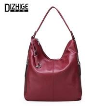 DIZHIGE Brand Luxury PU Leather Women Handbag High Quality Crossbody Bag For Vintage Large Capacity Multifunction New