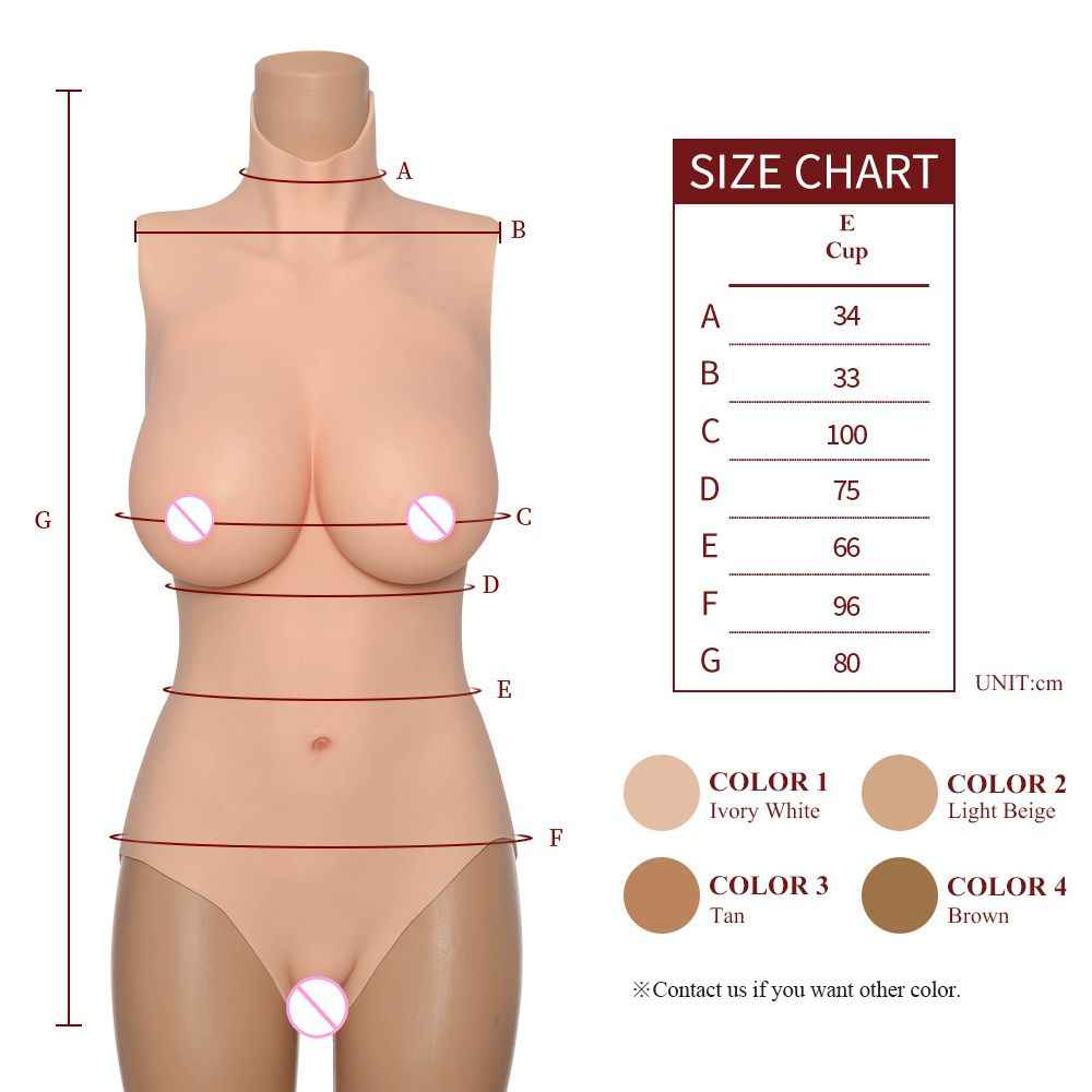Koomiho Segitiga Vagina Tukar Pakaian Silikon Payudara Bodysuit Palsu Payudara Bentuk Hip Penambah Silikon Payudara Drag 3G