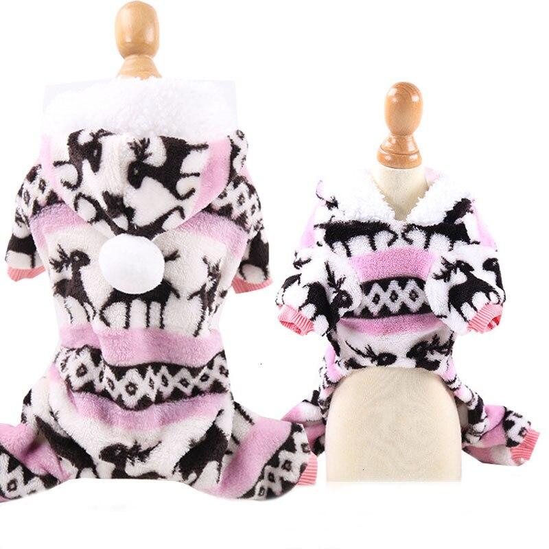 pink dog pajamas