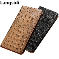 Business Natural leather flip case card slot holder for Samsung Galaxy A5 2016/Samsung Galaxy A8 2016 phone case coque flip capa