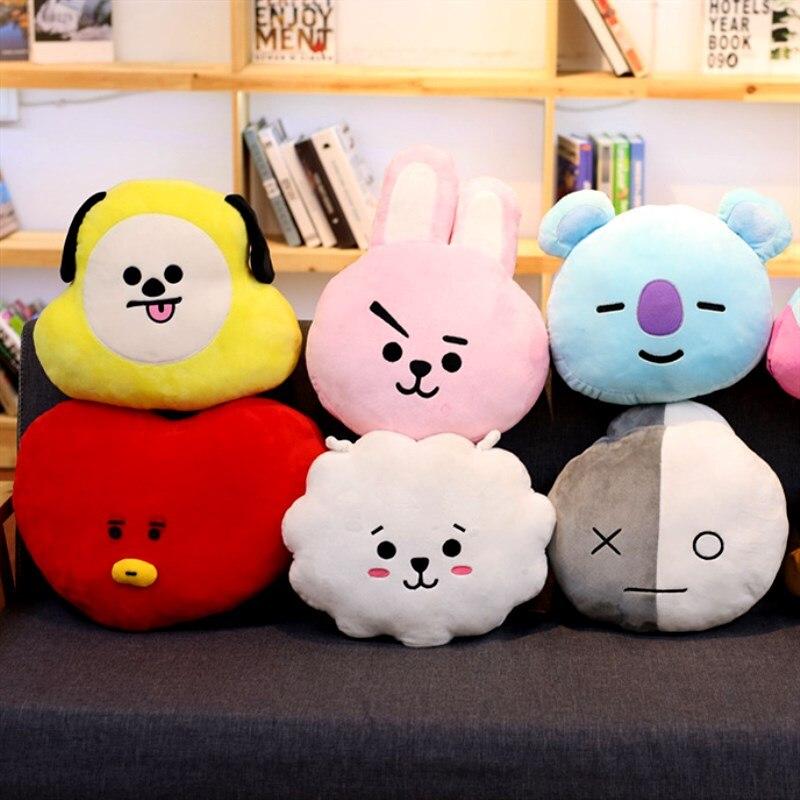 30CM Cute Series Plush Toy Cartoon Animal Pillow Girl Sofa Cushion For Kids Birthday Gift