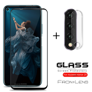 2-in-1 camera protector for honor 20 pro protective glass for huawei honor 20 yal-l21 yal-al10 honor20 20pro 6.26'' lens film 9h