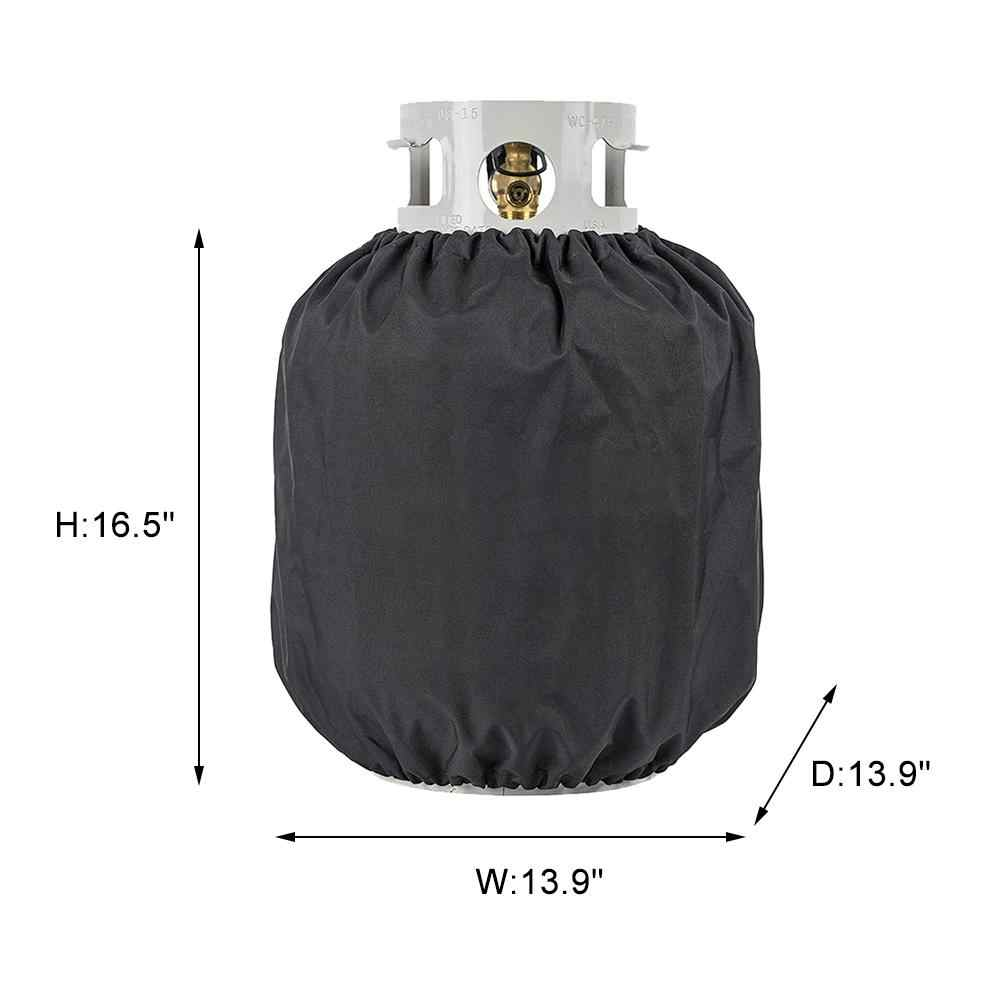Gas Bottle Dust Cover Propane Tank Cover Gas Bottle Covers Waterproof Dust-proof For Outdoor Gas Stove Camping Parts
