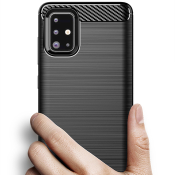 Чехол из углеродного волокна ударопрочный чехол для телефона для samsung Galaxy A51 A71 A90 5G Note10 + M10s A30s A50S A6 2018 Чехол бампер Чехол
