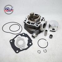 Leistung 45mm Big Bore kit Für KTM 50CC zu 65CC Zylinder Kolben Ring Dichtung Kit Für KTM 50 SX pro Junior Senior
