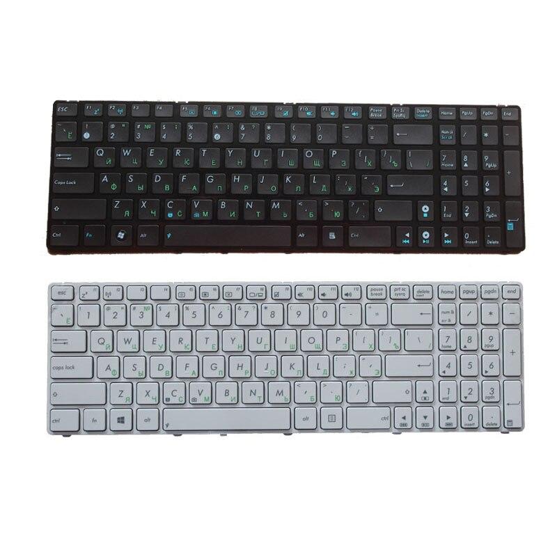 Russian Keyboard For Asus K53SV G73Sw G73Jw K52D K52DR K52DY K52JK K52JR K52JT K52JU K52JV K53SC White/black RU Laptop Keyboard