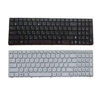 Teclado ruso para la Asus K53SV G73Sw G73Jw K52D K52DR K52DY K52JK K52JR K52JT K52JU K52JV K53SC blanco/Negro teclado portátil RU|keyboard for asus|laptop keyboard|ru keyboard -