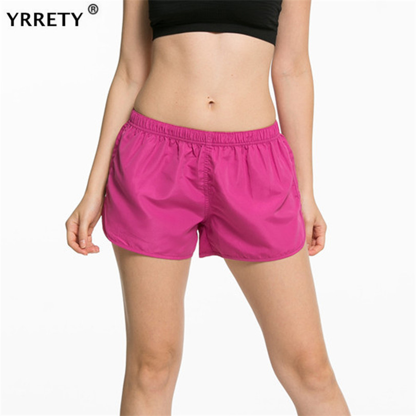YRRETY Sports Shorts Women Summer New Candy Color Loose Shorts Casual Lady Elastic Waist Short Mujer Femme Feminine Size Plus