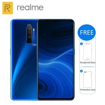 Перейти на Алиэкспресс и купить Оригинальный Новый Realme X2 PRO мобильный телефон 64-мегапиксельная четырехъядерная камера 6 Гб 64 Гб 6,5 дюймSnapdragon 855 + 4000 мАч VOOC 50 Вт Быстрая зарядка NFC ...