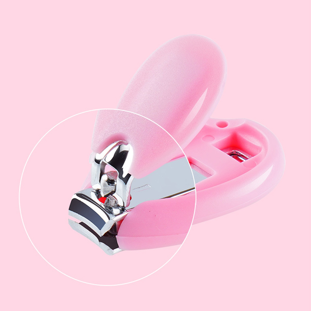 1Pcs Nail Clipper Baby Nails Safety Scissors Stainless Steel Nail Clipper Baby Dedicated Nails Safety Scissors Manicure Tools