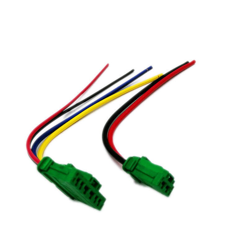 Вентилятор нагрева двигателя Вентилятор резисторный разъем/провод для Nissan Citroen C2 C3 C5 Peugeot 1007 207 607 Renault Clio Megane Scenic