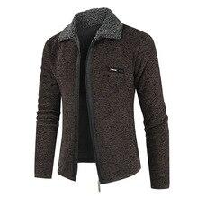 NEGIZBER 2019 Winter Herren Mantel und Jacken Solide Slim Fit Dicken Pelz Wolle Mäntel Männer Mode Warme männer Kaschmir jacke Streetwear