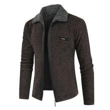 Зимнее Мужское пальто и куртки NEGIZBER 2019, однотонные приталенные плотные меховые шерстяные пальто, Мужская модная теплая кашемировая куртка, уличная одежда