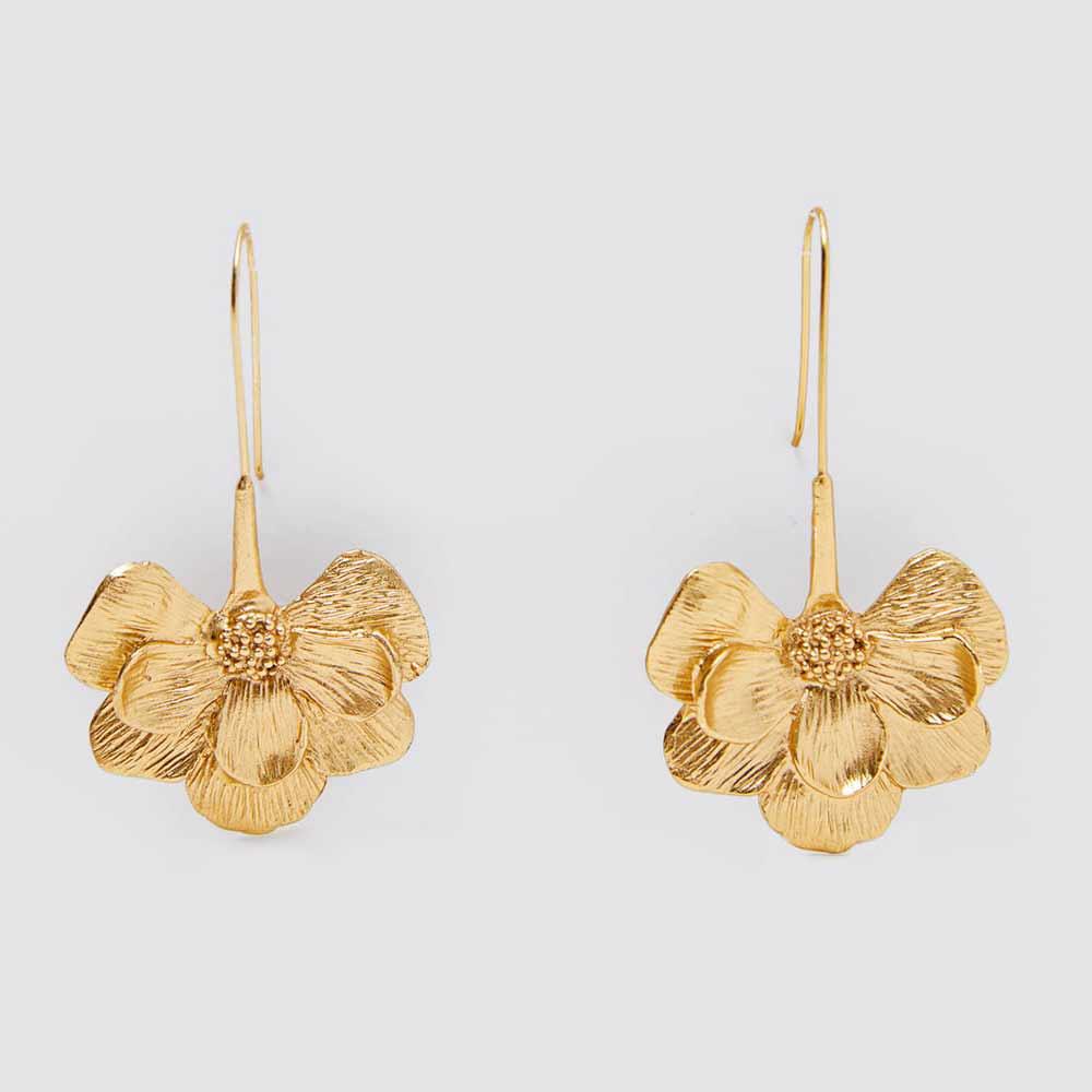 Girlgo Flower ZA Earrings For Women Fashion Fruit Crystal Acrylic Geometric Pendant Earring Wedding Jewelry Party Gift Wholesale