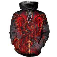 Tessffel Dragon Art Animal Harajuku MenWomen HipHop 3DPrinted Sweatshirts/hoodie/jackt/shirts Tracksuits Casual Colorful Style13