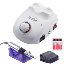 Jewhiteny 20W Nail Drill Machine 35000RPM Manicure Set Electric File Equipment For Art Design