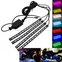 For DUCATI Monster 1000/S 1100 1100S 1100 EVO 1200 1200S Motorcycle LED Decorative Bar Strips Remote Control Atmosphere Lamp -