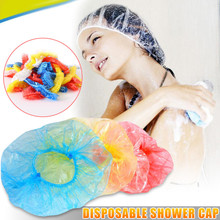 110Pcs Disposable Bathing Cap Hair One-off Shower Hotel Bath