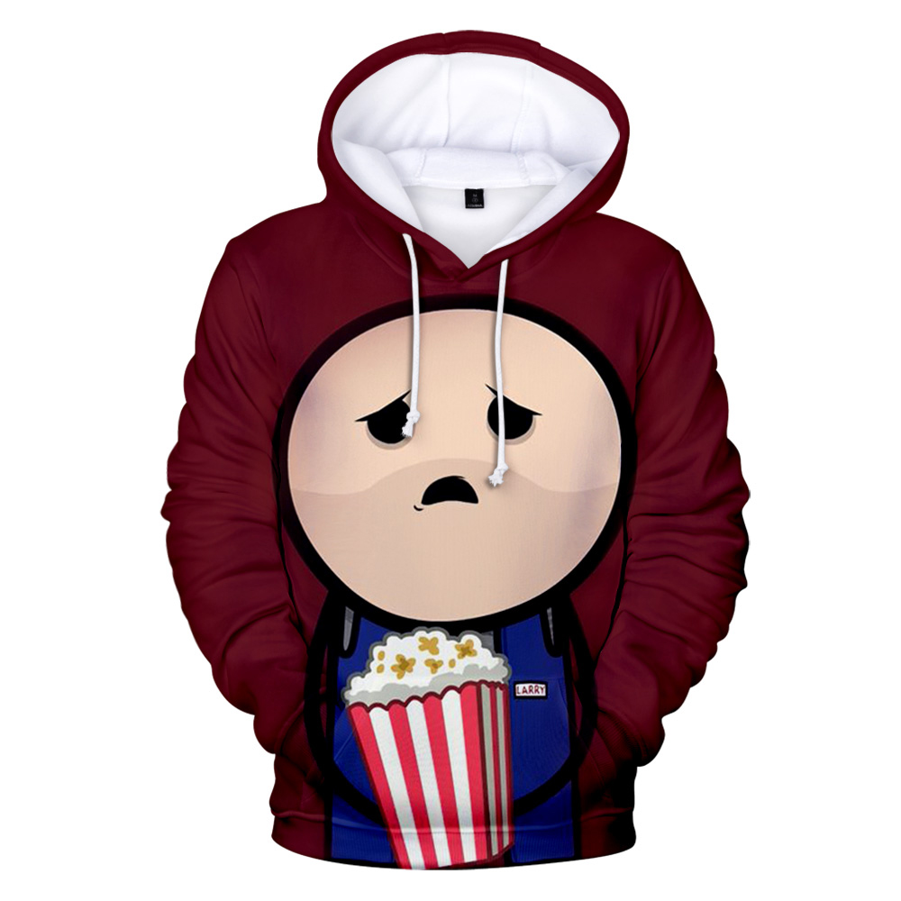 The Cyanide & Happiness Show Hoodie for children's Sweatshirts long sleeve Pullovers Autumn high quality popular kids 3D hoodies image