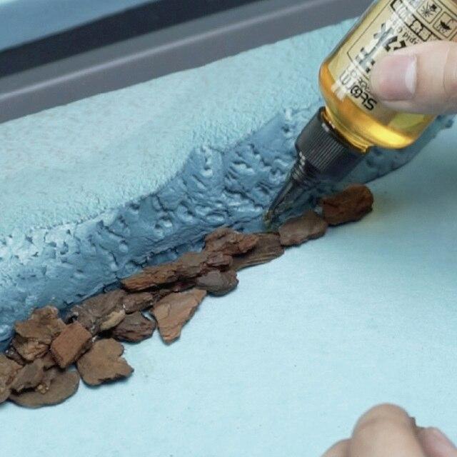 100g 2-6mm/5-12mm/11-22mm /18-30mm DIY Sand Table Building Model Material Bark Model Building Kits 2019