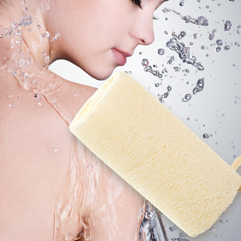 Natural 6 Pack Of Organic Loofahs Loofah Spa Exfoliating Scrubber Natural Luffa Body Wash Sponge Remove Dead Skin Made Soap