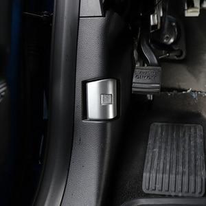 Image 3 - Auto Abs Zilver Motorkap Schakelaar Trim Decoratie Voor Ford F 150 2015 2020